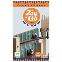 Knikkerbaan Zig & Go 14 pcs