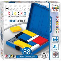 Monderian Blocks blue edition
