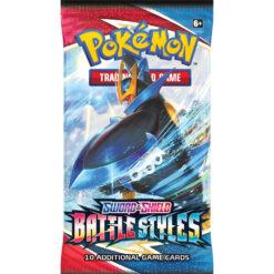 Pokemon S&S shield battle styles