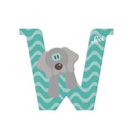 Sevi letter W