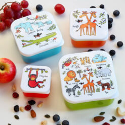 Snack Boxes safari 4pcs