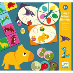 bingo memo domino dinosaurus