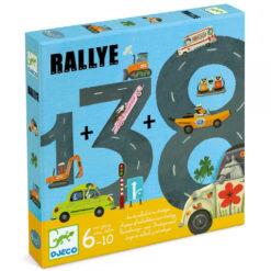 djeco reken spel Rallye