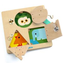djeco sloten puzzel