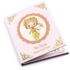 djeco stickerbook Miss Lilypink