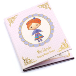 djeco stickerbook Miss Lilyruby