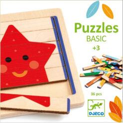 houten basis puzzel