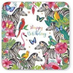 kaart zebra's