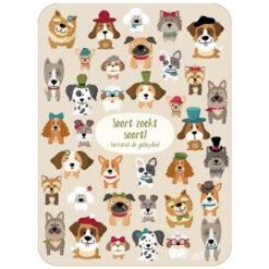 kaart zoekplaatje honden