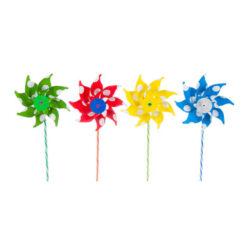 molen met bloemen 20cm