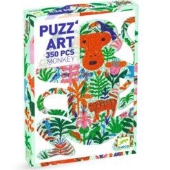 puzzel art monkey 350 pcs