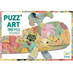 puzzel art walvis 150 pcs