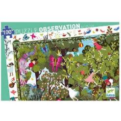 puzzel speeltijd in de tuin
