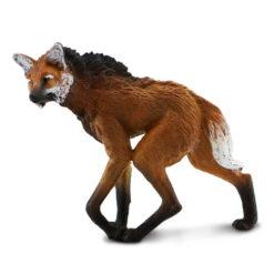 safari maned wolf