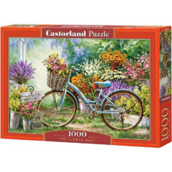 Castorland puzzel the flower mart 1000pcs