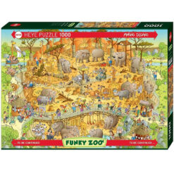 Puzzel Heye African habitat 1000 stukjes