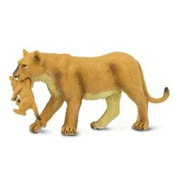 Safari leeuwin met welp